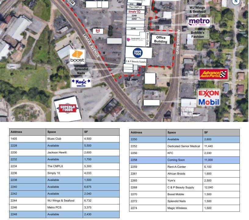 2234 Park - Lamar Airways Shopping Center Flyer