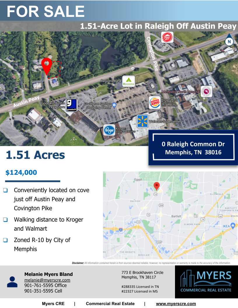 0 Raleigh Common Dr – 1.5 acres